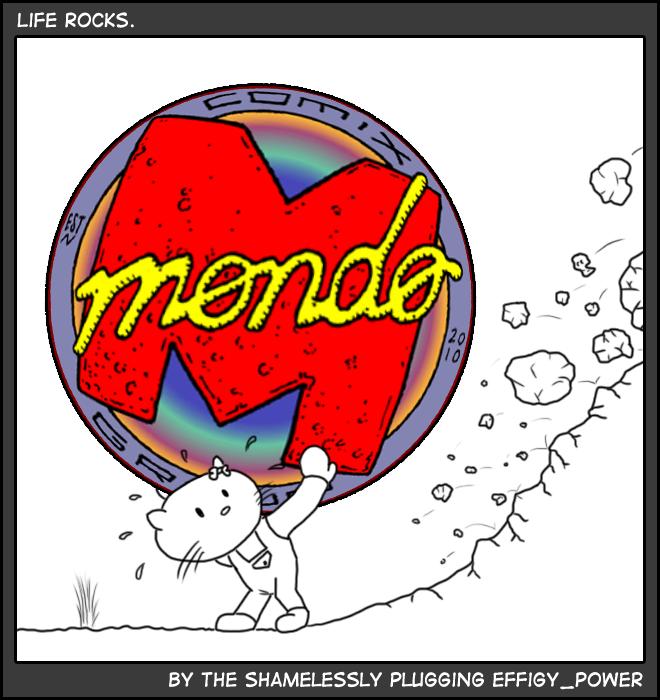 Fan Art by Effigy Power: Mondo Mayhem