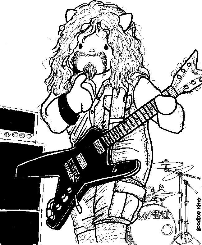 Dead Rock Stars Week: Dimebag Darrell (GBK#274)